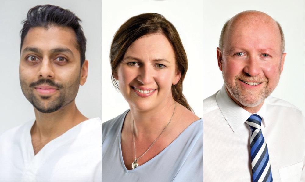 Vinesh, Judith and Peter - The Quadrant Dental Practice