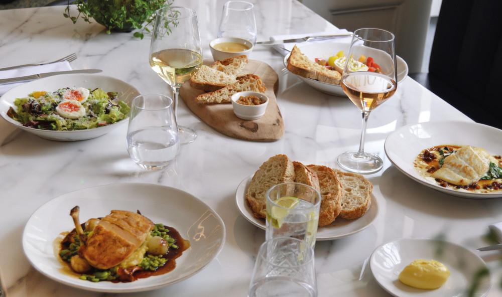 Six Restaurant cuisine - Kings Arms