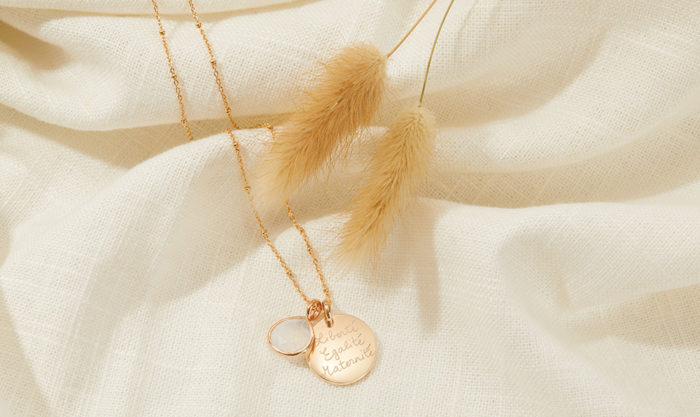 Win A Personalised Gemstone Necklace from Merci Maman