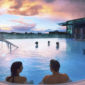 UK couples breaks 2021 Rooftop Pool at the Thermae Bath Spa, Bath, England